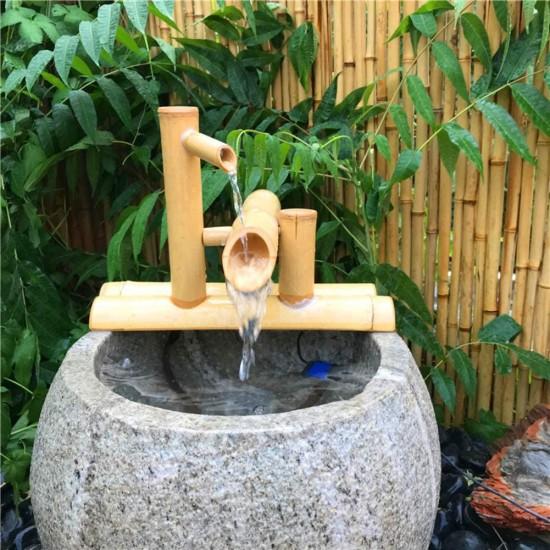 Lycil Japanese Style Courtyard Water, Zen Garden Sculptures